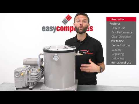 26L Professional Vacuum Degassing System - Product Demo