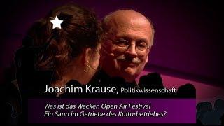 Was ist das Wacken Open Air Festival: Ein Sand im Getriebe des Kulturbetriebes?