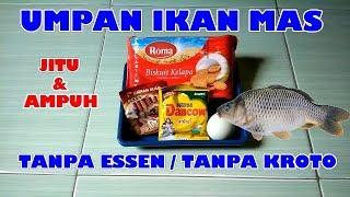 Umpan Ikan Mas Jitu Tanpa Essen Dan Kroto Youtube