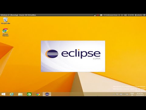 How to install Eclipse on Windows 8 / Windows 8 1 / Windows 10 - YouTube