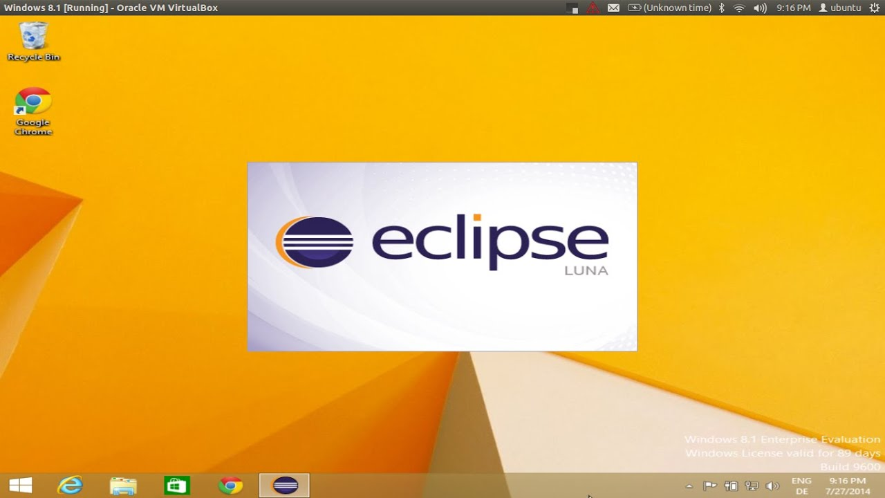 How to install Eclipse on Windows 8 / Windows 8 1 / Windows 10