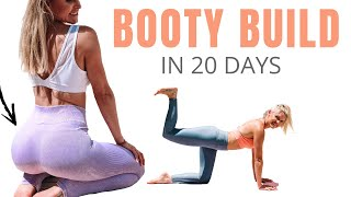 BUILD A BUTT IN 20 DAYS  (no equipment & no squats!)