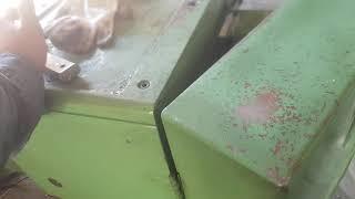 범용선반 도장전 청소와…