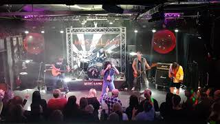 Dirty Eyes perform Bon Scott's AC/DC 'Whole lotta Rosie' live at Musicland