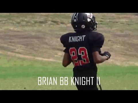 BRIAN BB KNIGHT II #23 - KATY ALL AMERICAN FOOTBALL LEAGUE - 10 YEARS OLD