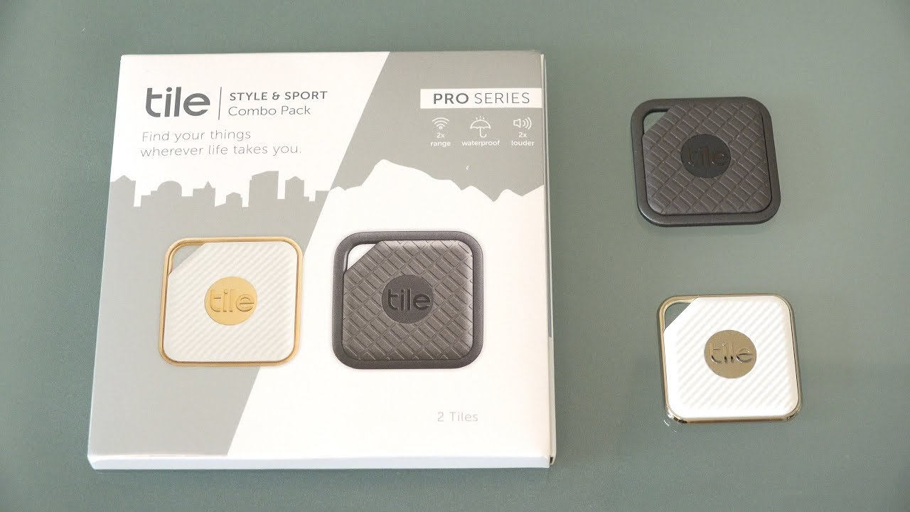 Tile Pro Key Finder Phone Anything Style And Sport Unboxing