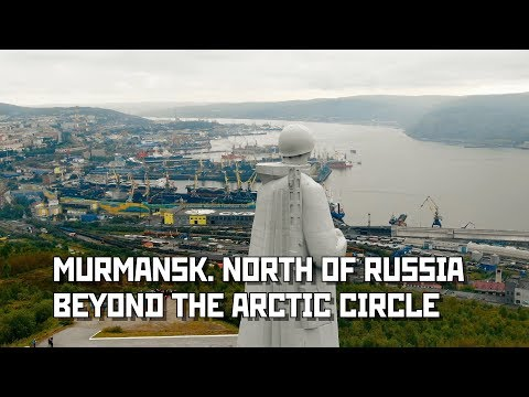 Murmansk. North of Russia. Beyond The Arctic Circle.