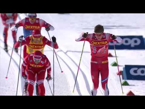 Лыжи на Первом канале. 19.01.20