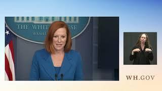 08/02/21: Press Briefing by Press Secretary Jen Psaki