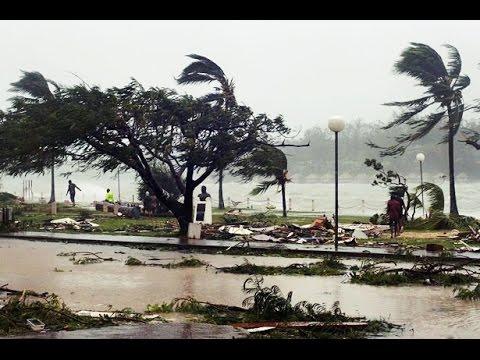 Cyclone Pam Devastates Vanuatu (Video)