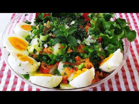 Πατατοσαλάτα παραδοσιακή -Greek potato salad, εύκολη γεμάτη χρώματα δροσερή σαλάτα, δοκιμασετην!