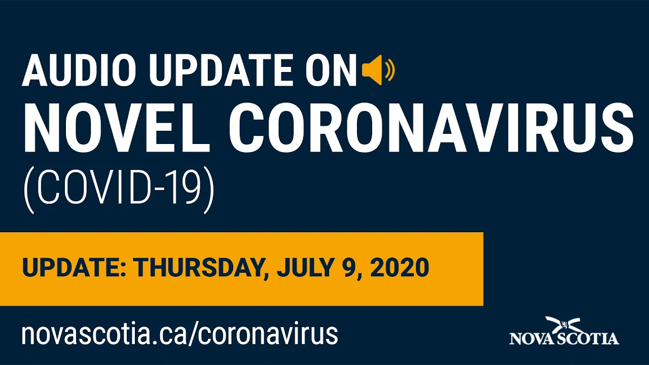 Audio Update on COVID-19: Dr. Strang – Thursday, July 9, 2020