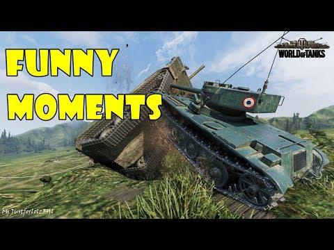 World of Tanks - Funny Moments | Week 4 November 2017