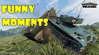 World of Tanks - Funny Moments | Week 4 November 2017
