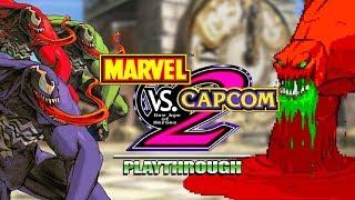 THREE VENOMS...MAJOR FUN: Marvel Vs Capcom 2 - Arcade Run