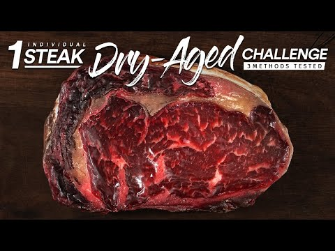 1 Single DRY AGE Steak CHALLENGE | Guga Foods