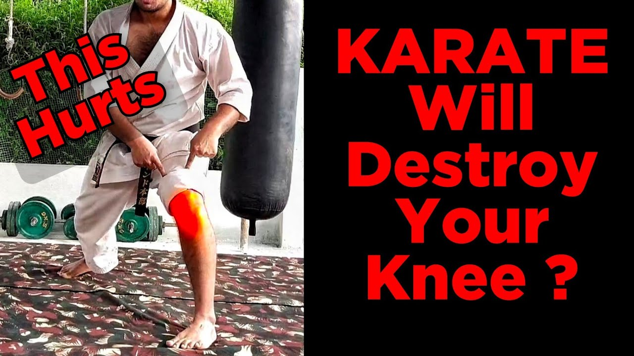 Is Karate Bad for Your Knee (WhyMost of us have joint pain).