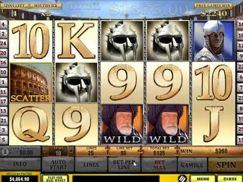 Play gladiator slots online las vegas hot slots source code