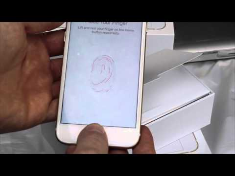 Set Up Guide for iPhone 6 iPhone 6 plus - First time turning on - Beginners guide 16gb 64gb 128gb
