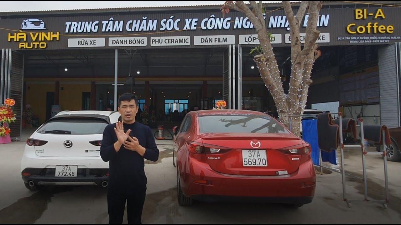 Rửa và chăm sóc xe công nghệ Nhật tại Hoàng Mai, Nghệ An