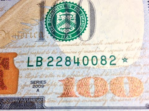 $100 Star Notes: Look For Low Print Runs Of Less Than 640,000!