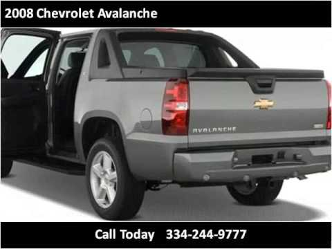 2008 Chevrolet Avalanche Used Cars Montgomery AL - YouTube