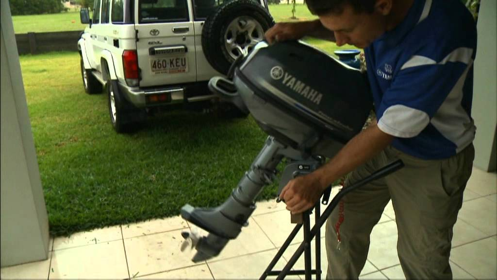 Get to know your Yamaha 6hp outboard - YouTube