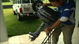 Get to know your Yamaha 6hp outboard