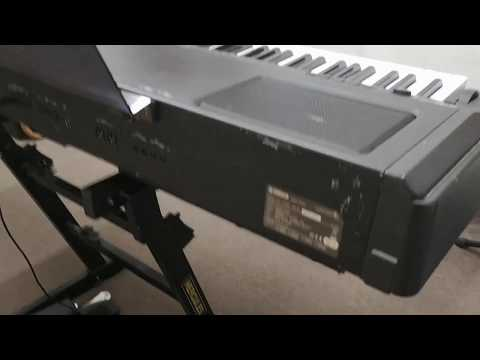 Overview of my Yamaha CP300 digital stage piano