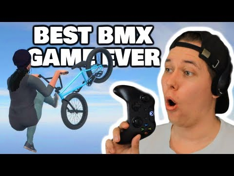 BMX STREETS - First Impressions | Best BMX Game EVER?