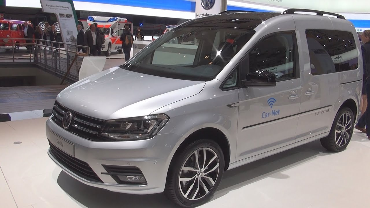 volkswagen caddy edition 35 2 0 tdi combi van 2017 exterior and interior youtube. Black Bedroom Furniture Sets. Home Design Ideas