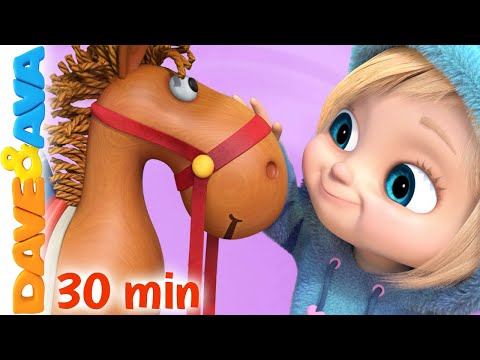 🐪  Alice the Camel   Nursery Rhymes and Counting Songs by Dave and Ava 🐪