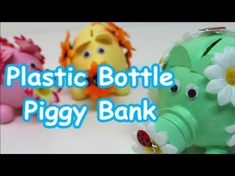Diy Crafts Ideasprojects How To Make Piggy Bank Out Of Plastic