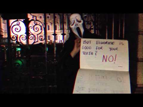 Silent Scream at Irish Government Buildings