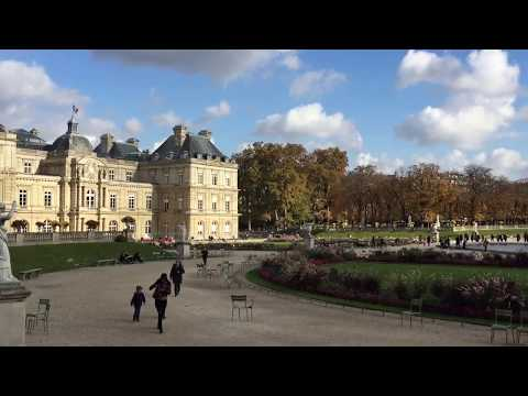 Paris - Luxembourg Gardens on a Sunday Afternoon.