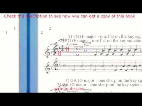Learn to sing notes on a music sheet Grade 1 Part 1