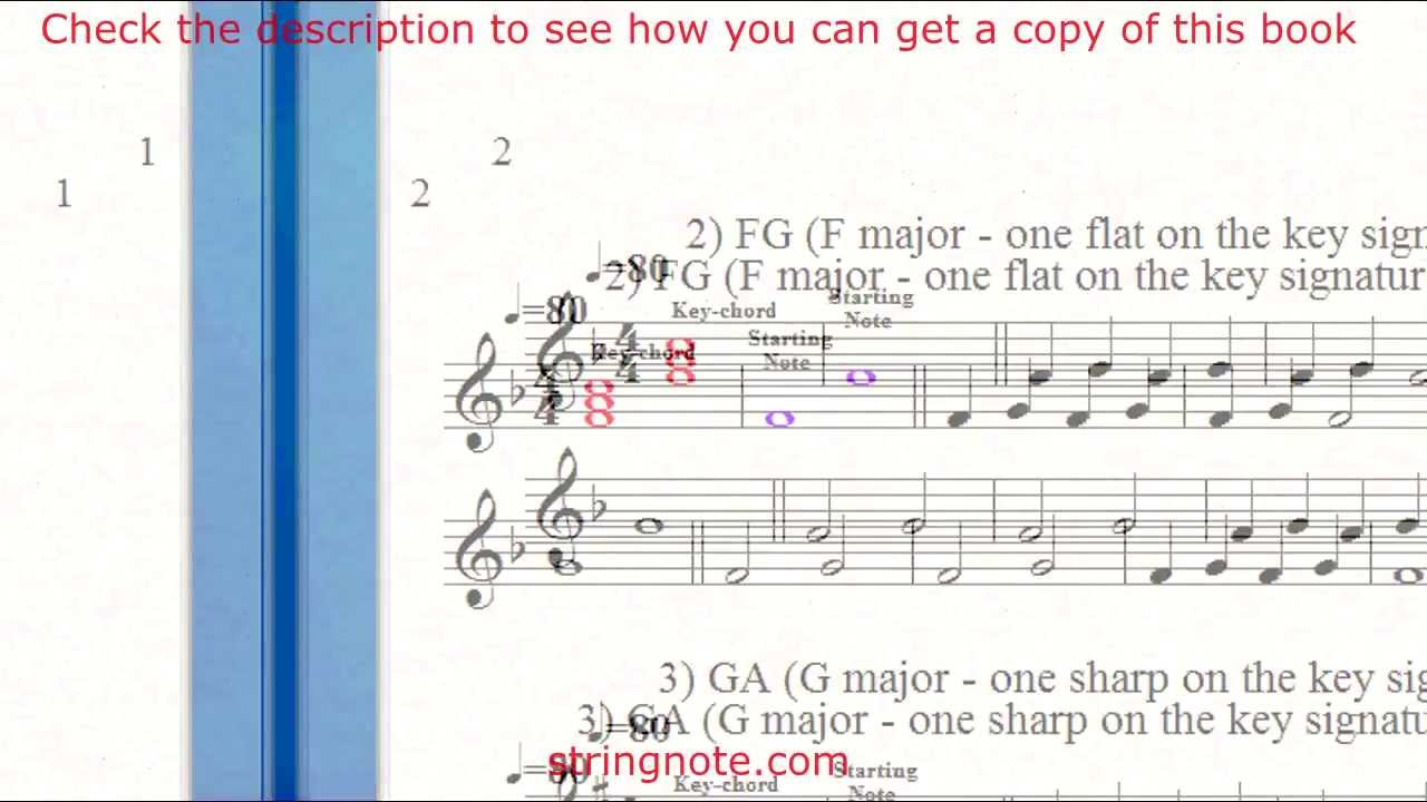 Learn to sing notes on a music sheet Grade 1 Part 1 - YouTube