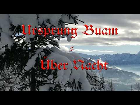 Ursprung Buam -  Über Nacht (Album: A urige Weihnacht).