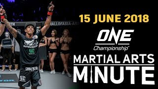Martial Arts Minute | 15 June 2018