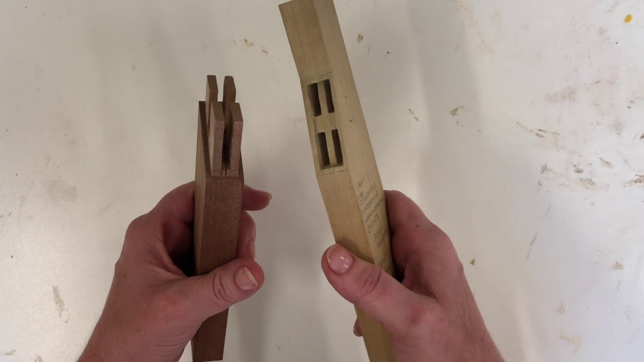 florida woodworking classes | joinery example - gunstock