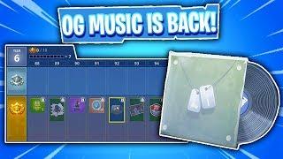 Fortnite Season 6 Battle Pass Showcase - OG MUSIC IS BACK! + REACTION!