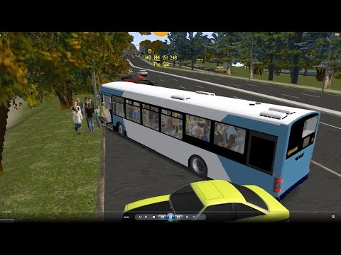 Omsi 2 tour (655) Sydney Bus 248 - The Spit - Seaforth Shops - Spit Junction @ Volvo B7L 澳洲 悉尼