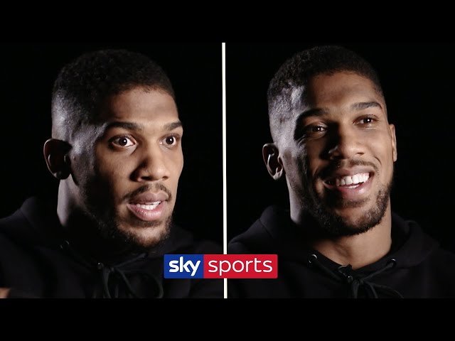 EXCLUSIVE! Anthony Joshua on Tyson Fury's change of trainer, sparring Chisora & Deontay Wilder