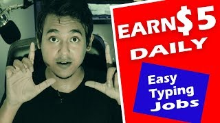 Earn $5 Daily - Easy Typing Jobs ||Work From Home||