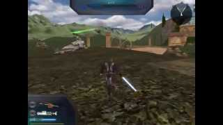 StarWars Battlefront 2: Naboo Prototype Gameplay [2013]