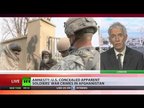 'Untried war crimes': Amnesty slams US military actions in Afghanistan
