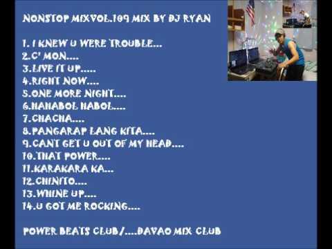 Nonstop mix vol.109(hataw dance PBC/DMC)mix by dj ryan
