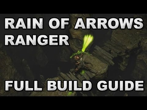 Path of Exile: ZiggyD's Rain of Arrows Ranger Full Build Guide - Top 40 1 Week Nemesis Race