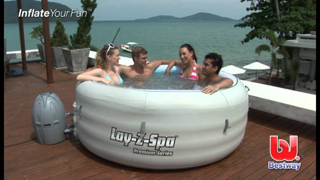 Bestway lay z spa vegas 54112 ab 395 00 for Aufblasbarer pool 3m