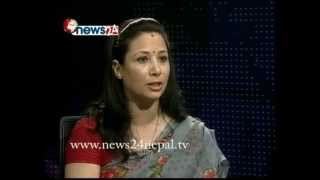 CAPTAIN YASHODHARA THAPA on REAL FACE With Prem Baniya